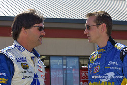 Kurt Busch et Jim Inglebright