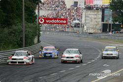 Audi parade: Audi 90 IMSA-GTO, Abt-Audi TT-R, Audi V8 Quattro and Audi A4 Quattro