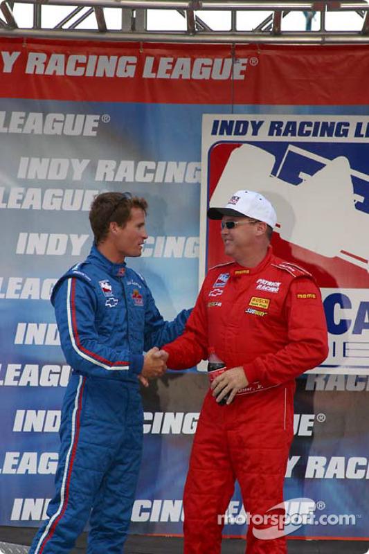 Al Unser Jr. et Alex Barron