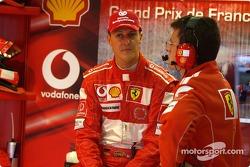 Michael Schumacher and Cris Dyer