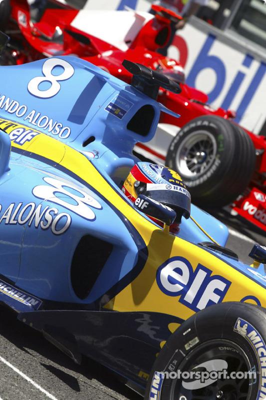 Fernando Alonso en pole position