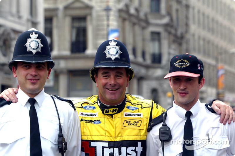 Nigel Mansell ve Londra polisi