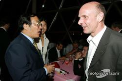 DTM Gala in Oriental Pearl Tower: Volker Strycek