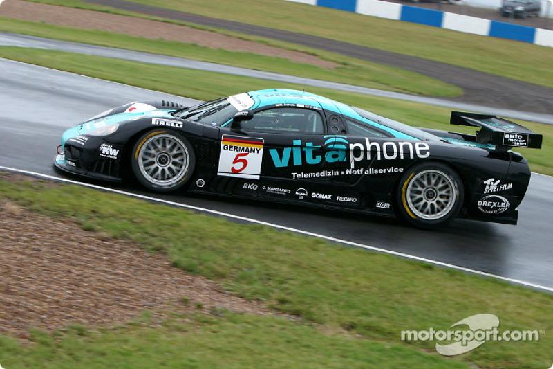 #5 Vitaphone Racing Team Saleen S7: Uwe Alzen, Michael Bartels
