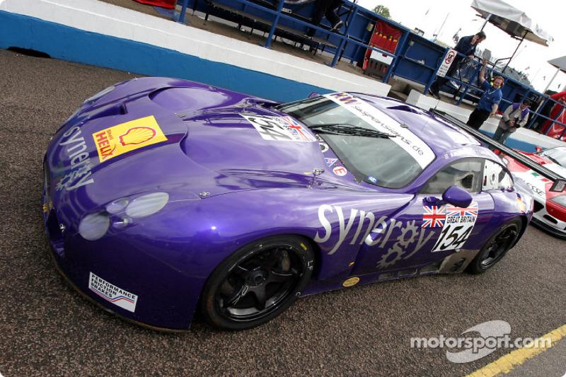 #154 Chamberlain-Synergy Motorsport TVR Tuscan T400R: Bob Berridge, Lee Caroline, Chris Stockton