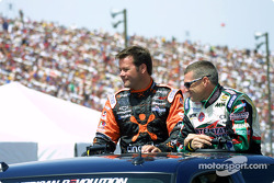 Robby Gordon and Bobby Labonte