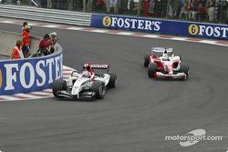 Jenson Button and Ricardo Zonta