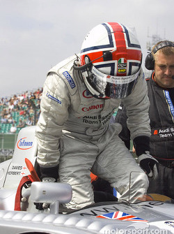 Jamie Davies on the starting grid
