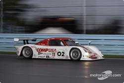 La Lexus Riley n°02 du CGR Grand Am (Jimmy Morales, Luis Diaz)