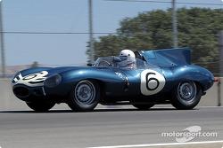 #6 1955 Jaguar D-Type, Lou Sellyei