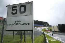Carte postale de Spa-Francorchamps