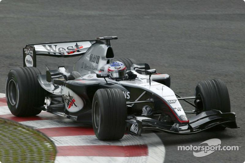 2004: Гран При Бельгии, McLaren MP4-19B. Стартовал 10-м