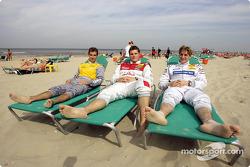 Jeroen Bleekemolen, Christijan Albers and Martin Tomczyk