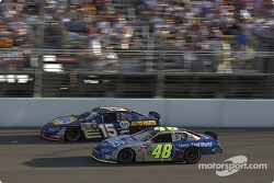 Jimmie Johnson passes Michael Waltrip