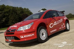 Citroën C4 WRC: first roll out