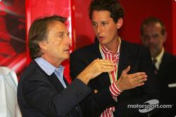 Luca di Montezemolo and John Elkann