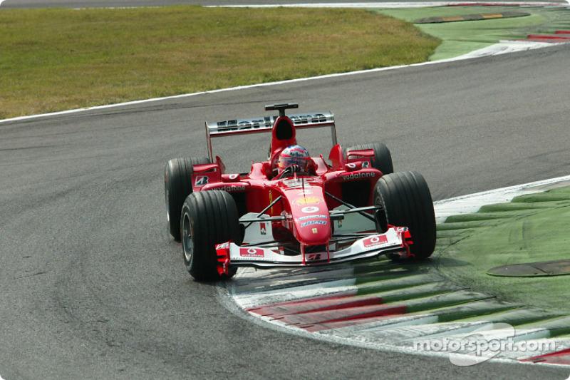 2. Італія-2004, Монца - Рубенс Баррікелло, Ferrari F2004: 260,395 км/год