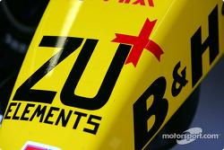 A new sponsor for Jordan: Zu Elements