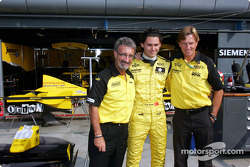 Eddie Jordan, Can Artam ve Super Nova Racing boss David Sears