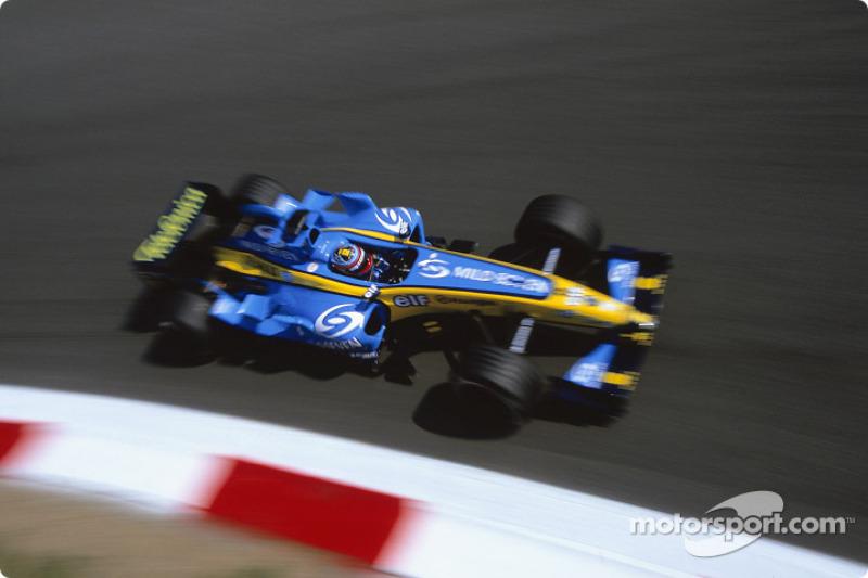 2004 : Fernando Alonso, Renault R24