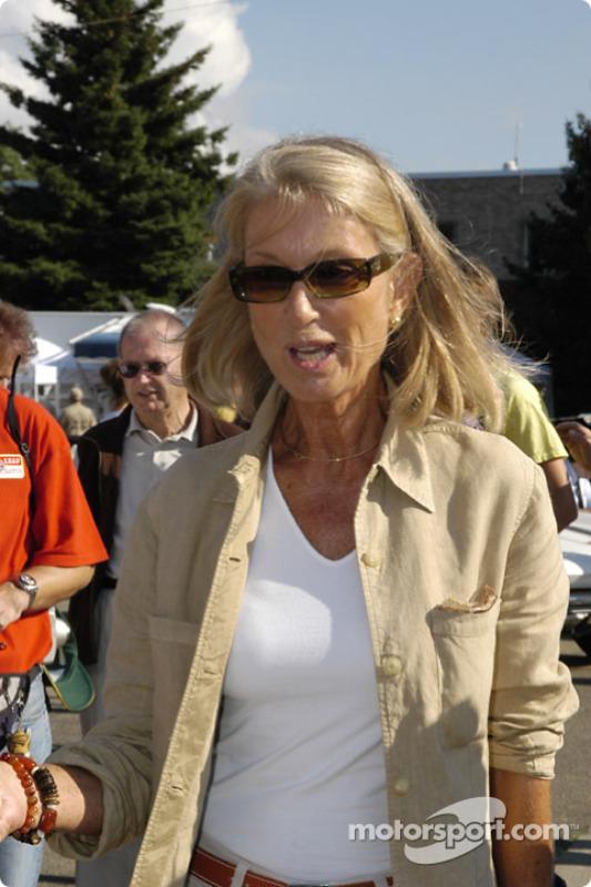 Nina Rindt was at the dedication