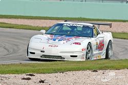 #46 Michael Baughman Racing Corvette: Mike Yeakle, Michael Baughman