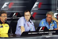 Thursday FIA basın toplantısı: Eddie Jordan, Tony Parnell ve Flavio Briatore