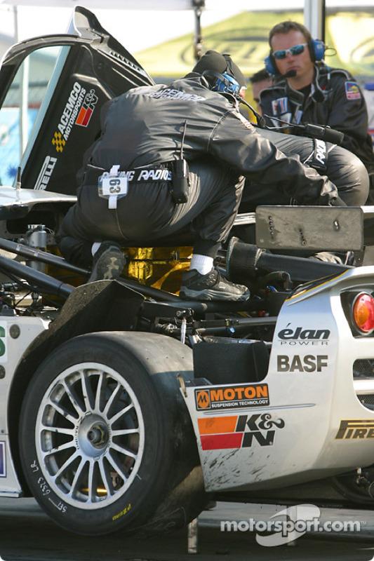 Problème moteur pour la Saleen S7-R du ACEMCO Motorsports