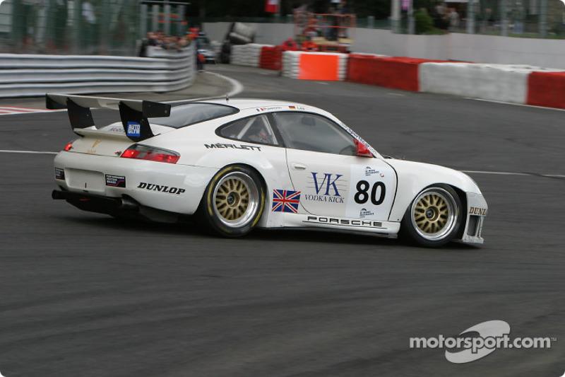 #80 Sebah Automotive Porsche 911 GT3 RS: Marc Lieb, Xavier Pompidou