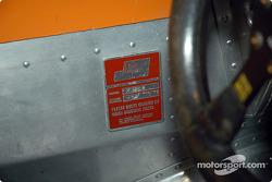 Name plate team Surtees
