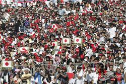 Des fans à Suzuka