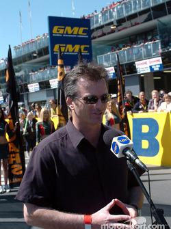 Former Australian Test Cricket Captain Steve Waugh had the honour