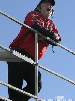 Dale Earnhardt Jr.'s crew chief Tony Eury