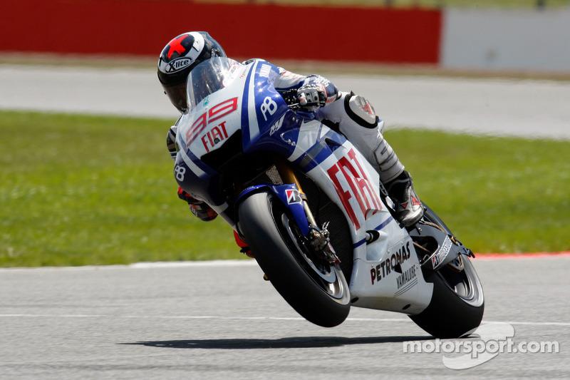 2010 - Silverstone: Jorge Lorenzo, Yamaha YZR-M1