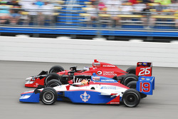 Marco Andretti, Andretti Autosport and Alex Lloyd, Dale Coyne Racing