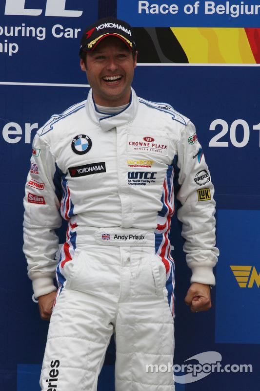 Podium, Andy Priaulx, BMW Team RBM, BMW 320si