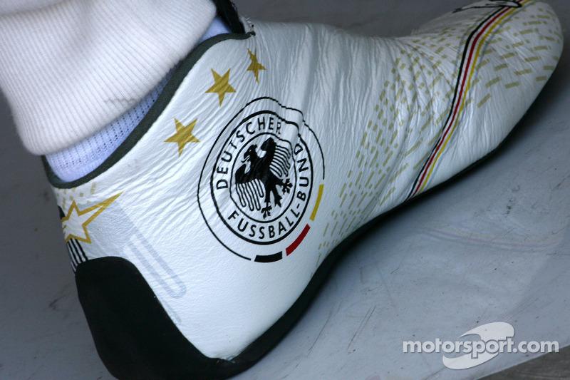 Schoenen Michael Schumacher, Mercedes GP