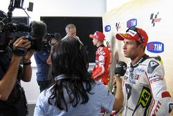 Second place Randy De Puniet, LCR Honda MotoGP