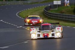 #13 Rebellion Racing Lola Rebellion Coupe: Andrea Belicchi, Jean-Christophe Boullion, Guy Smith