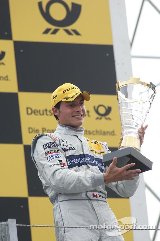 Podium: 3de Bruno Spengler, Team HWA AMG Mercedes C-Klasse