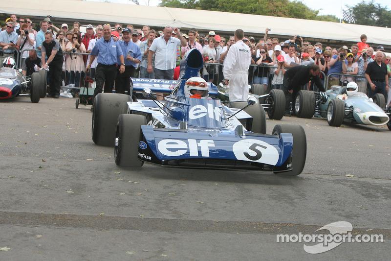 1973 Tyrrell Cosworth 006 (Jackie Stewart): Jackie Stewart