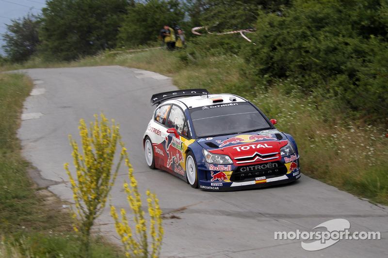 Daniel Sordo en Marc Marti, Citroën C4 Citroën Total World Rally Team