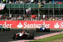 Alexander Rossi leads Nico Muller