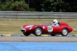#59 Osca 850 TN 1959: François Cointreau, Alfred Cointreau