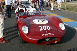 #17 Maserati 200 Si 1957: Wolf Zweifler