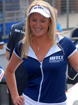Andy Priaulx's grid girl