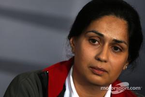 Monisha Kaltenborn, Managing director BMW sauber F1 Team