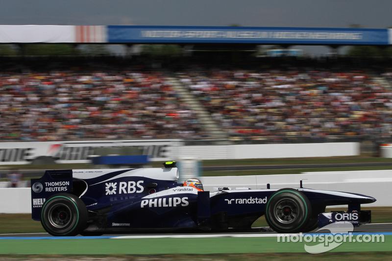 2010: 威廉姆斯FW32赛车