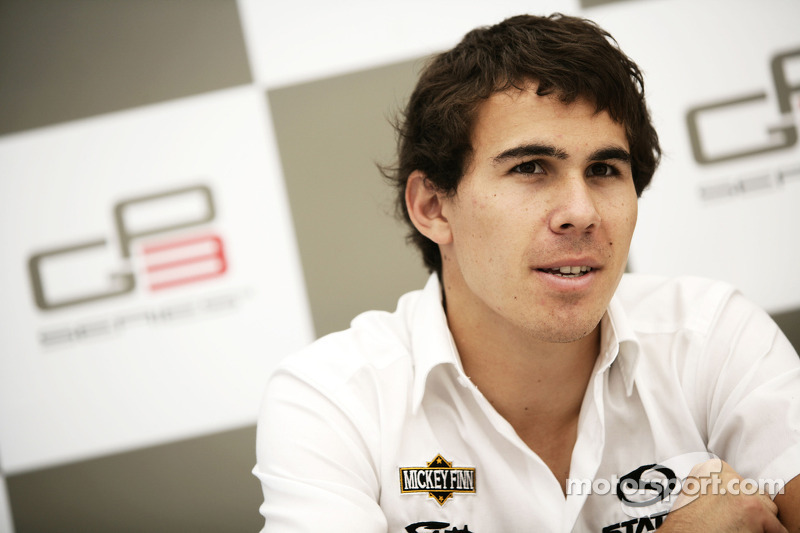 Robert Wickens in de persconferentie