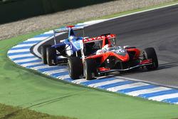 Daniel Juncadella leads Roberto Merhi